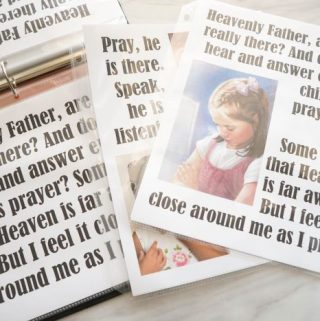 Flip Chart: A Child's Prayer