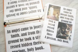 Angel Came to Joseph Smith - Flip Chart