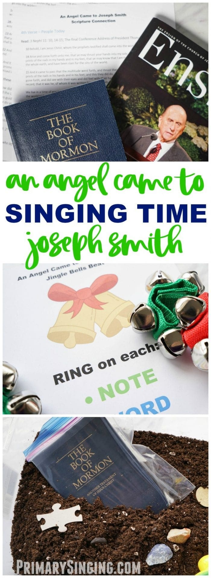 An Angel Came to Joseph Smith - Singing time lesson plan for primary choristers / music leaders. #LDS #Primary #MusicLeaders #PrimaryChorister #Chorister #ImaMormon #SingingTime See all our LDS last minute printables, games + ideas!