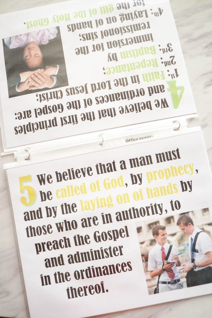 Articles of Faith printables / flip charts! Perfect resource for church callings including use in Singing time lesson plans for primary choristers / music leaders. #LDS #Primary #MusicLeaders #PrimaryChorister #Chorister #ImaMormon #SingingTime