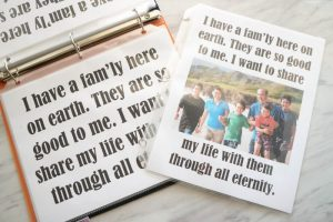 Families Can Be Together Forever - Flip Chart