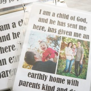 I Am a Child of God - Flip Chart