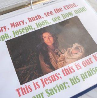 Flip Chart: Shepherd's Carol