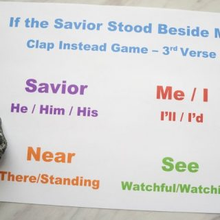 If the Savior Stood Beside Me – Clap Instead