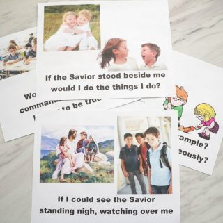 If the Savior Stood Beside Me – Contrasting Choices