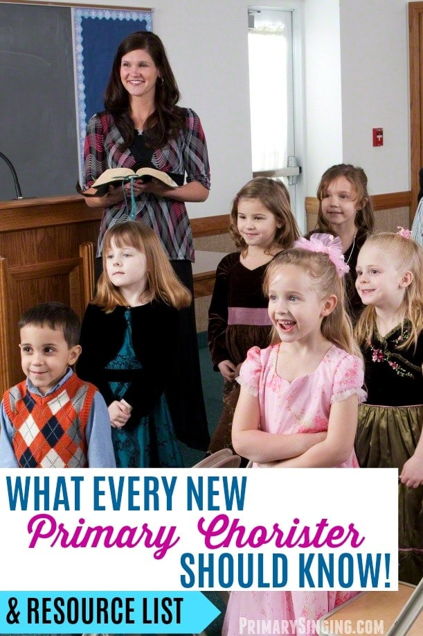 5 Things every new LDS Primary chorister / music leader should know - plus helpful resources for singing time ideas and lesson plans! #LDS #Primary #SingingTime #PrimaryChorister