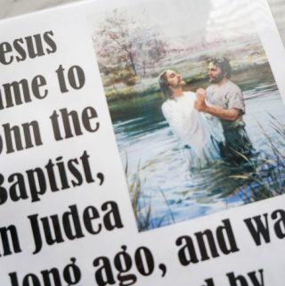 Flip Chart: Baptism