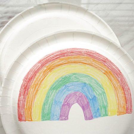 when I am baptized plates