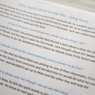 If the Savior Stood Beside Me – Song Story