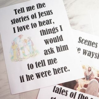 Tell Me the Stories of Jesus – Flip Chart