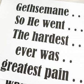 Gethsemane – What Comes Next