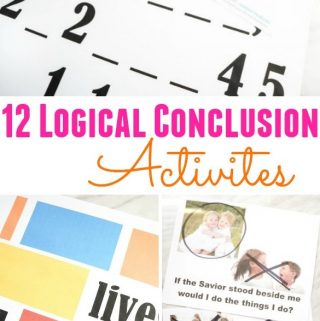 12 Logical Conclusion Activities for LDS Primary Singing Time - Tons of ideas, lesson plans, and activities for Music Leaders! Plus, engaging activities for home study of Come, Follow Me.