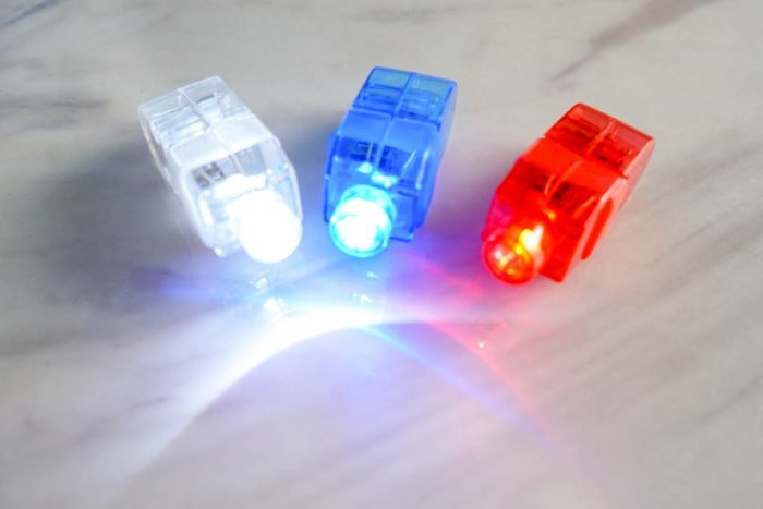 finger lights for singing time