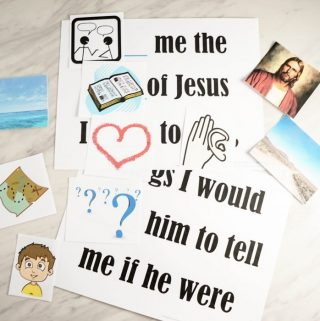 Tell Me the Stories of Jesus – Pick a Picture
