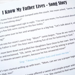 I Know My Father Lives Song Story