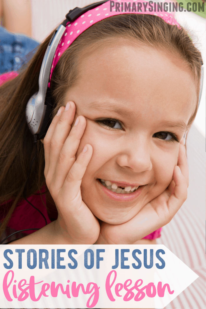 Tell Me the Stories of Jesus - Listening Lesson