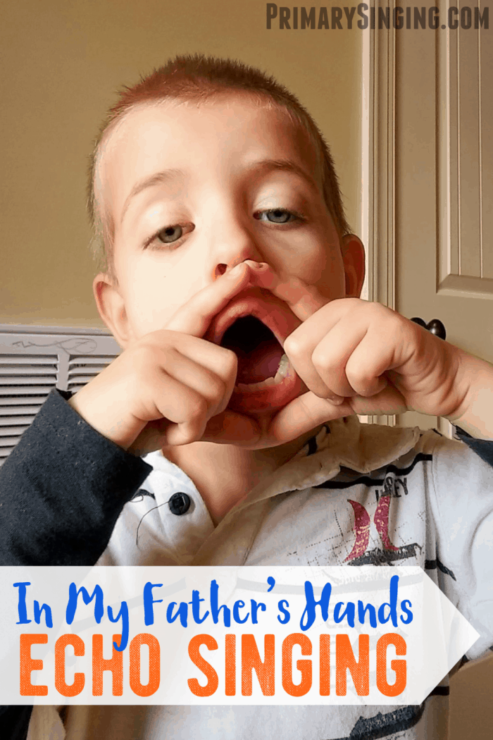 In My Father's Hands Echo Singing