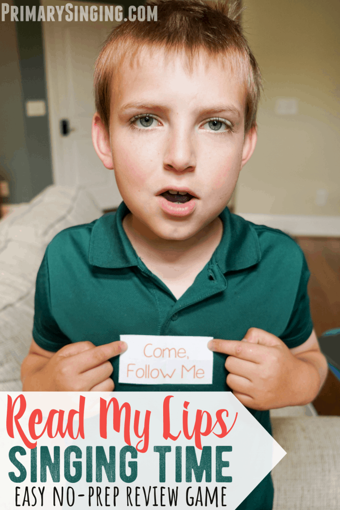 Review Game – Read My Lips