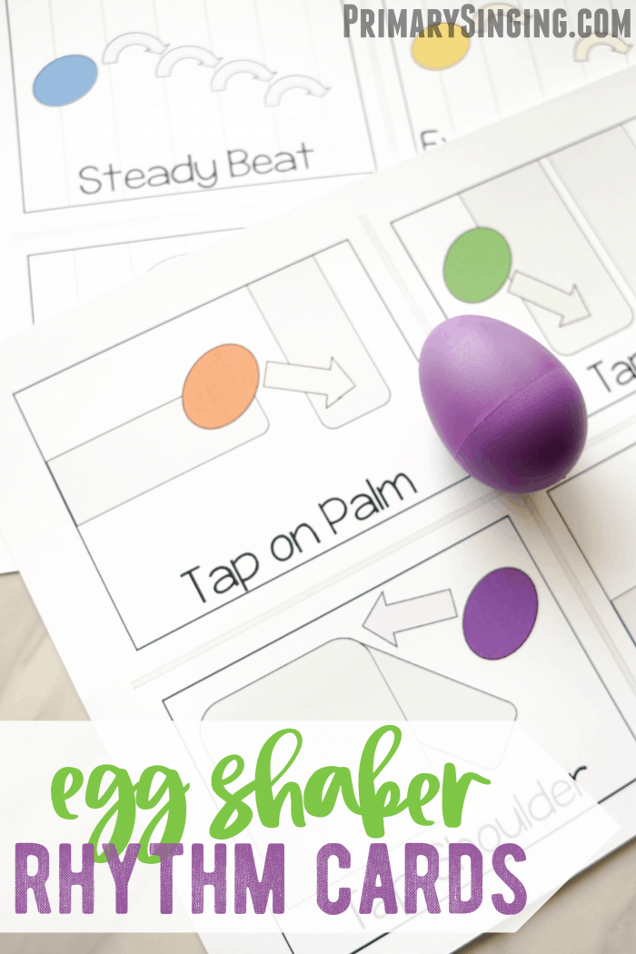 Egg Shaker Rhythm Cards