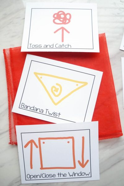Bundle Action and Movement Cards Set on PrimarySinging