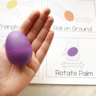 Egg Shaker Rhythm Cards